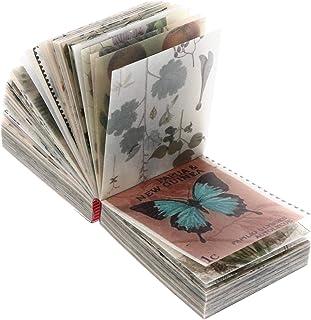rosenice 365枚ヴィンテージスクラップブッキング素材紙diy装飾用品スクラップブッキングクラフト