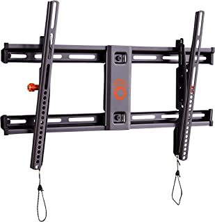 """ECHOGEAR Tilting TV Wall Mount with Low Profile Design for 40"""" - 82"""" TVs - Eliminate Glare with 10º of Smooth Tilt - Slides to Center Between Studs & Can Be Leveled After Install - 2019 Upgrade"""