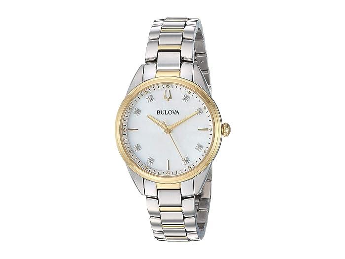 Bulova  Sutton - 98P184 (Two-Tone Yellow) Watches