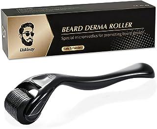 غلتک درما ریش برای رشد ریش و مو - هدیه غلتک ریش تیتانیوم Microneedle برای مردان