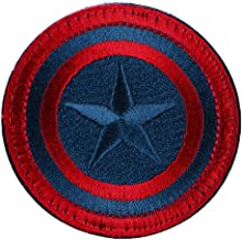 LiZMS Tactical Patch : Captain America Shield (Red and Gray)