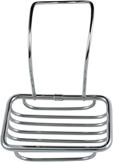 The King's Bay Soap Holder for Over Edge of Clawfoot or Any Bath Tub Chrome Plated Claw Foot