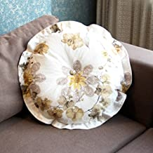 Almofadas decorativas de sofá para cadeiras, almofadas de assento para enchimento de algodão pérola espessa Almofadas de d...