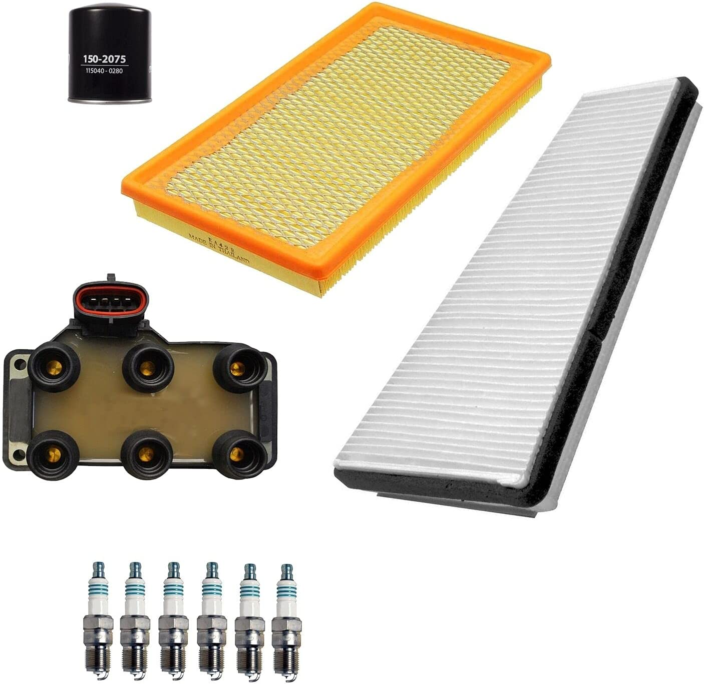Ignition Tune Cheap mail order shopping Up 6 Iridium Power Spark with Compatible Plugs online shopping kit