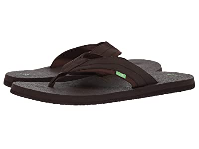 Sanuk Beer Cozy Big Tall (Dark Brown) Men
