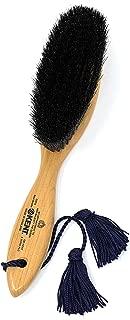 ケント タッセルが付いた黒豚毛の洋服ブラシ カシミア & ウール用 CS7AOXB 1777年創業