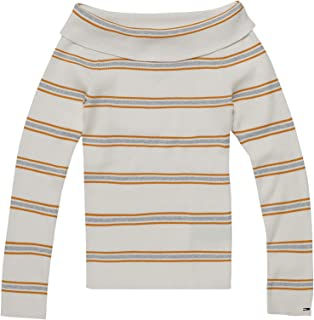 Tommy Hilfiger Pullover Tops For Women S, White, Size S