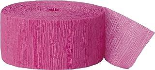 CREPE STREAMER 81FT-Hot Pink, Unisex