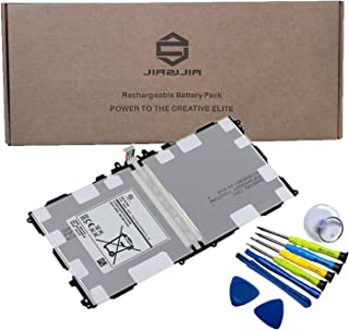 JIAZIJIA T8220E Tablet Battery Replacement for Samsung Galaxy Note 10.1 2014 Edition SM-P600 SM-P601 SM-P605 SM-P605V SM-P607T SM-T520 Series T8220C T8220K T8220U with Tools Kit 3.8V 31.24Wh 8220mAh