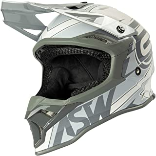 CAPACETE ASW FUSION 2.0 BLADE OFF WHITE 62