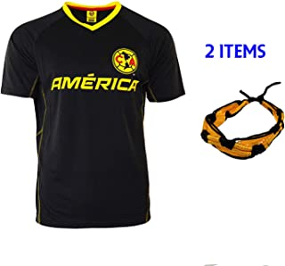 Club America Soccer Jersey Mexico FMF Adult Training Aguilas del America