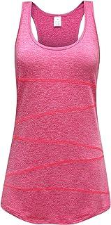 OThread & Co. Women's Yoga Tank Top Performance Activewear Running Workout Moisture-Wicking Stylish A-Shirt