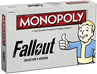 USAOPOLY Monopoly: Fallout Collector's Edition Board Game