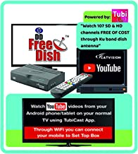 Catvision Advanced 2 in 1 Set Top Box with Mobile Cast to Television from Android Phones/Tablets | HDMI Connectivity | 2 Y...