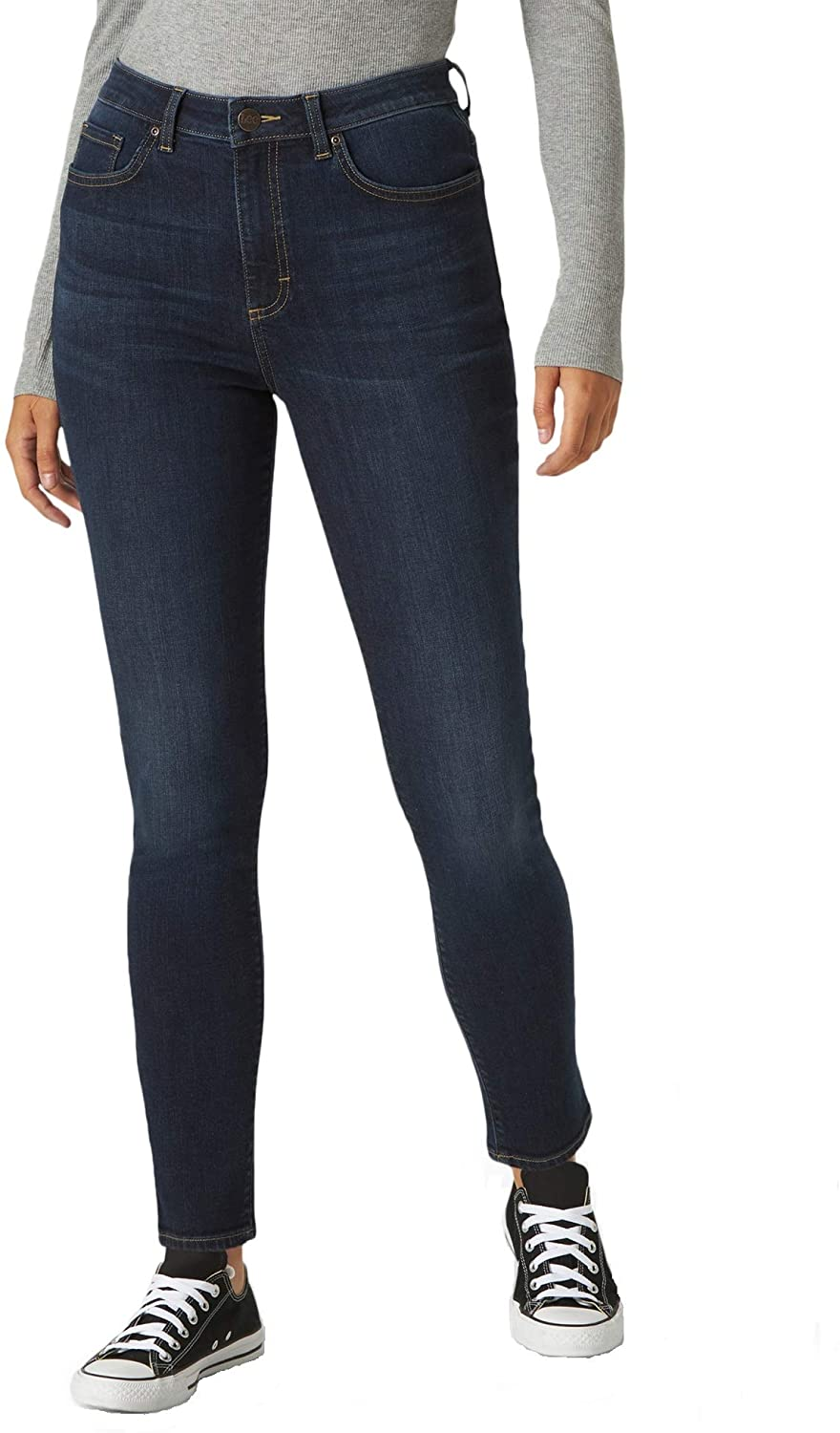 Lee Women's Slim Fit Jean Rise Brand new Skinny High Beauty products