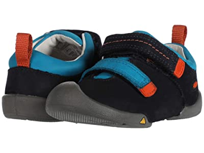 Keen Kids Pep Double Strap (Toddler) (Dress Blues/Koi) Boy