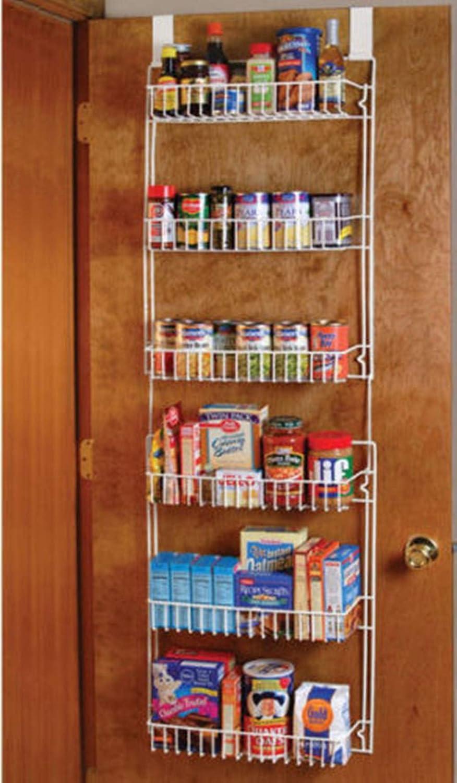 Good concept Over the Door Storage Shelf Kitchen Pantry Rack Organizer  Spice Space Saver