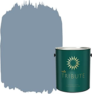 KILZ TRIBUTE Interior Matte Paint and Primer in One, 1 Gallon, Vintage Indigo (TB-48)
