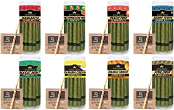 King Palm | Flavor Mini Size | 20 Pack | Natural Slow Burning Pre-Rolled Palm Leafs with Filter Tip (Watermelon Wave)