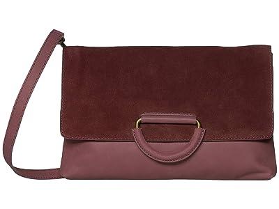Lucky Brand Kiki Clutch (Sugar Red) Handbags