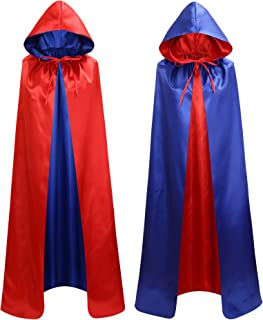 blue and red cape