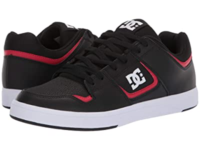 DC DC Shoes Cure (Black/Red) Men