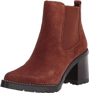 حذاء برقبة حتى الكاحل للنساء من Franco Sarto ، Russet، 8.5