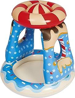 Bestway 52270 - Piscina Hinchable Infantil con Techo Candyville 91x91x89 cm