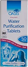 Highlander Aquaclear water purification tablets, 50tablets, FA013