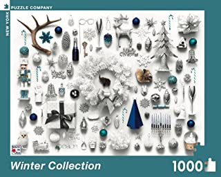 New York Puzzle Company - Jim Golden Winter Collection - 1000 Piece Jigsaw Puzzle