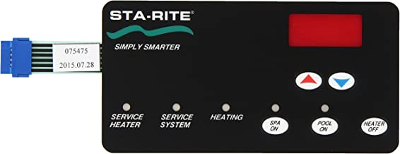 Pentair 42002-0029Z Switch Membrane Replacement Sta-Rite Max-E-Therm Pool and Spa Heater Electrical Systems