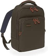 Mandarina Duck Touch Duck Men's Slim Backpack, Military Green, Made From Waterproof Coated Nylon