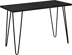 black hairpin desk