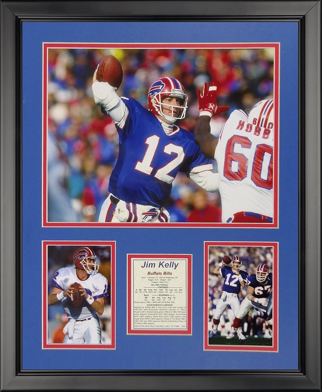 Legends Never Die Jim Kelly  Buffalo Bills Framed Photo Collage, 16  x 20