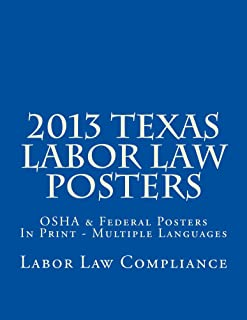 2013 Texas Labor Law Posters
