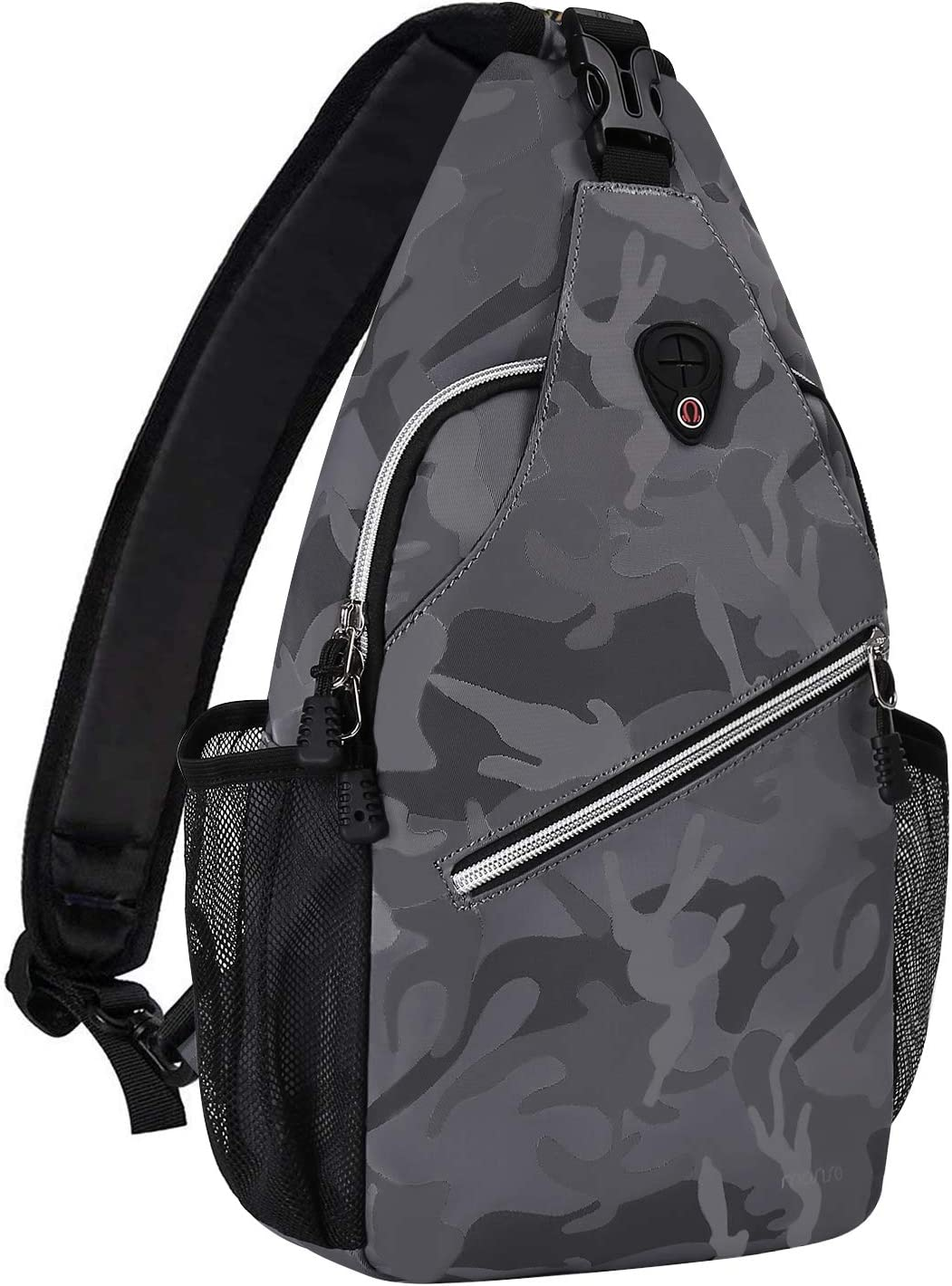 MOSISO Sling Backpack Travel Classic Hiking Crossbo Pattern NEW before selling Daypack Rope