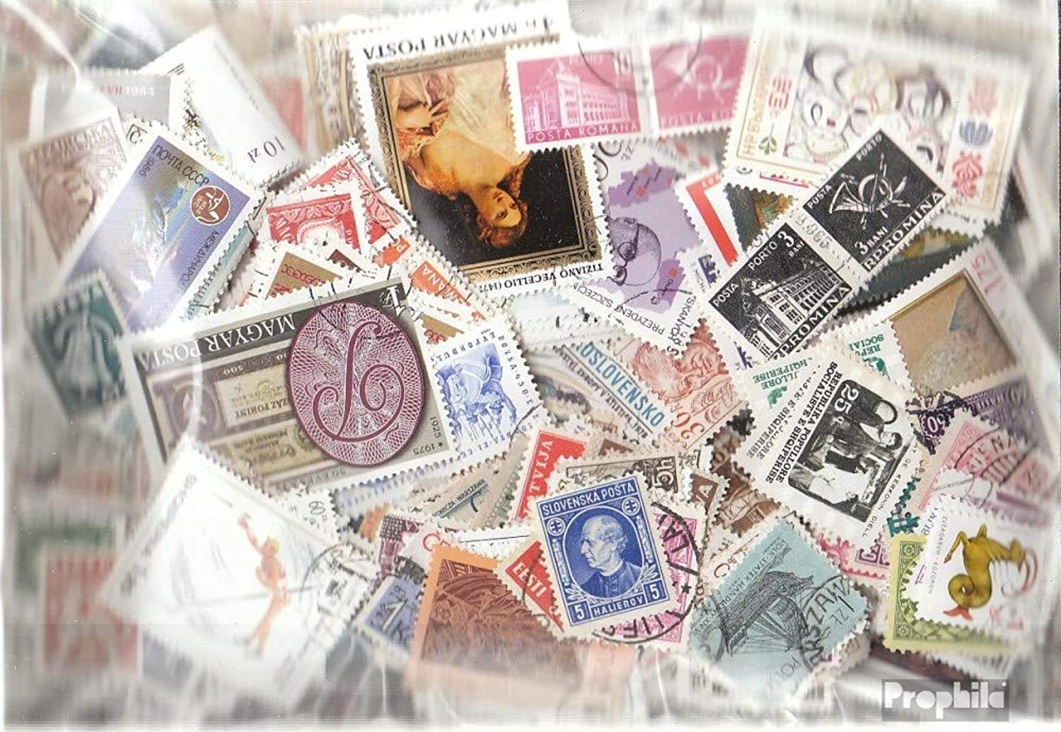 Eastern Europe 2.000 different stamps (Stamps for collectors)