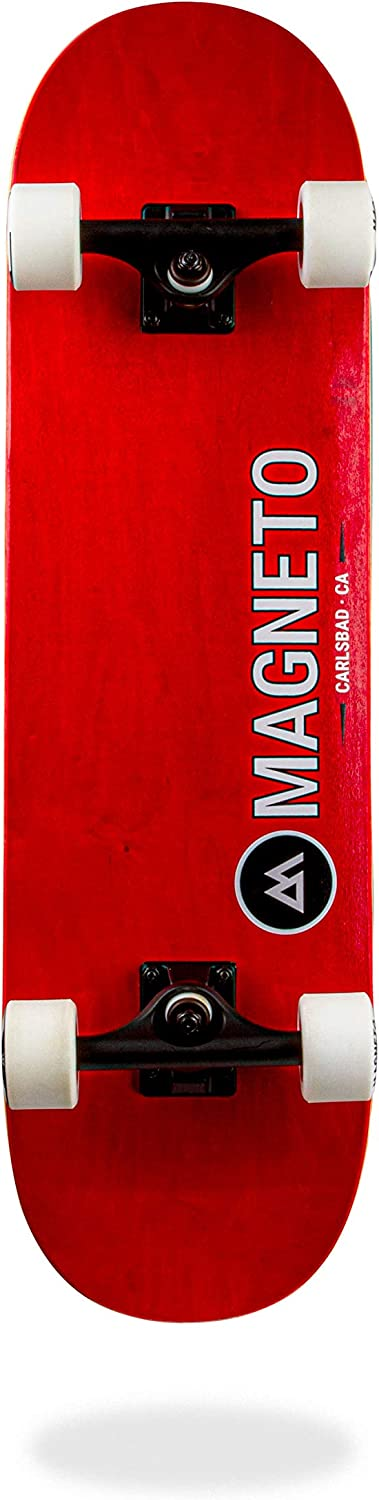 Designed for All Types of Riding Magneto SUV Skateboards 7 Layer Canadian Maple Deck Fully Assembled Complete 31 x 8.5 Skateboard