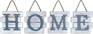 Barnyard Designs Home Sign Wall Decor, Rustic Primitive Country Decorative Wall Art for..