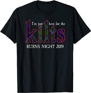 Robert Burns Supper Night Legacy Tartan T-Shirt