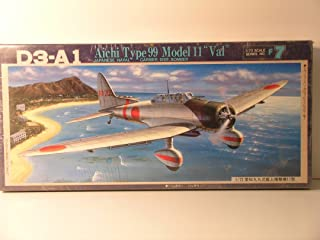 Fujimi Models----1/72 Scale Japanese WW II Navy Bomber Aichi Type 99 Model 11 Val---Plastic Model Kit