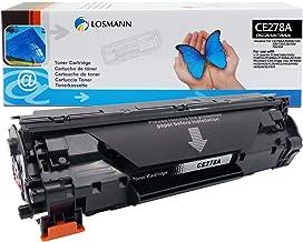 LOSMANN 1x Toner Compatible para HP CE278A 78A para HP Laserjet Pro M1530 MFP, M1536 DNF MFP, M1537 DNF MFP, M1538 DNF MFP, M1539 DNF MFP, P1560, P1566, P1600, P1606 DN, P1607 DN, P1608 DN, P1609 DN