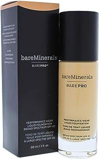 بير مينيرالز كريم أساس سائل باريبرو بيرفورمانس وير بعامل وقاية من أشعة الشمس 20-17 بني فاتح