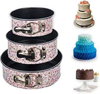 Casa Azul Cake Tins for Baking - Round Cake Tin - Springform Cake Tin - Baking Tins and Trays - Cheesecake Tins - Cake Pan...