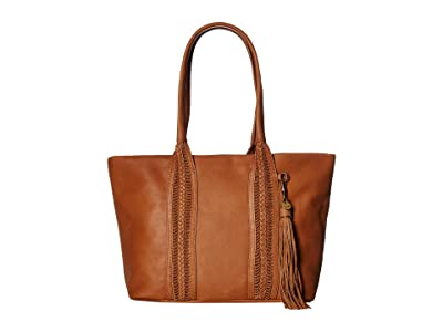 The Sak Sienna Satchel by The Sak Collective (Tobacco) Handbags