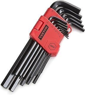 TEKTON Long Arm Hex Key Wrench Set, 13Piece (1.27-10 mm) | 25242