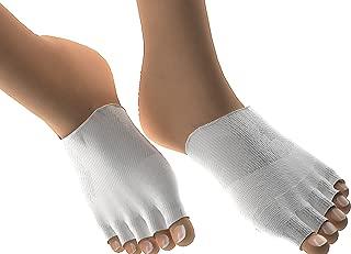 Toe Separator Socks, Gel Toe Separators 1 Pair Gel Lined Compression Toe Separating Socks