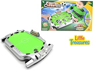 Little Treasures Football Champions Table Board Game – Train Your 4+ Kid with This Educational Toy, air Suspended Game of Football on a Court-Like Desktop with Unique, Very Attractive Designing