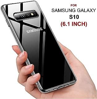 Samsung Galaxy S10 Kılıf 6.1 INCH Şeffaf Ultra İnce Yumuşak Kılıf (SMS10SCC)