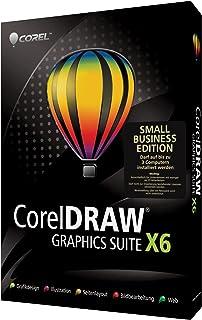 Corel CorelDRAW Graphics Suite X6 - Small Business Edition - Software de gráficos (3 usuario(s), Full, 1536 MB, 1024 MB, Intel Pentium 4, AMD Athlon 64, AMD Opteron, DEU)